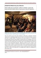 dossier presse spectacle texte mhlafon veze