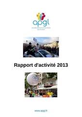 rapport d activite 2013 apgl final