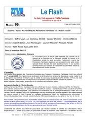 flash n 95 table ronde action sociale 3 juillet 2014 vu michele