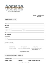 Fichier PDF inscription