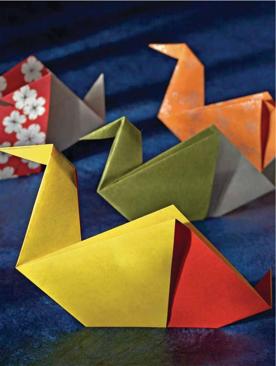 10 Fold Origami Fabulous Paperfolds You Can Make In Just Steps Complex Diagrams Pdf Peter Engel Allan Penn Fabulouspdf Page 3