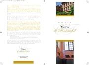 brochure de visite hotel court de fontmichel