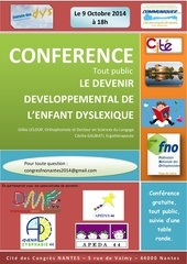 conference dys affiche