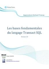 les bases fondamentales du langage transact sql