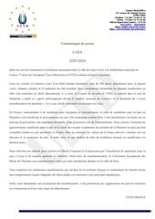Fichier PDF gaza communique