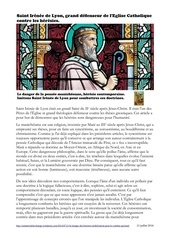 le danger des heresies appel au combat spirituel