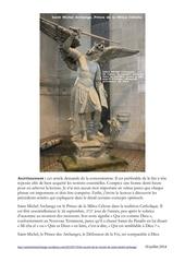 les secrets de la victoire de saint michel archange
