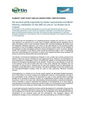 summary jointevent dev biologics 21072014