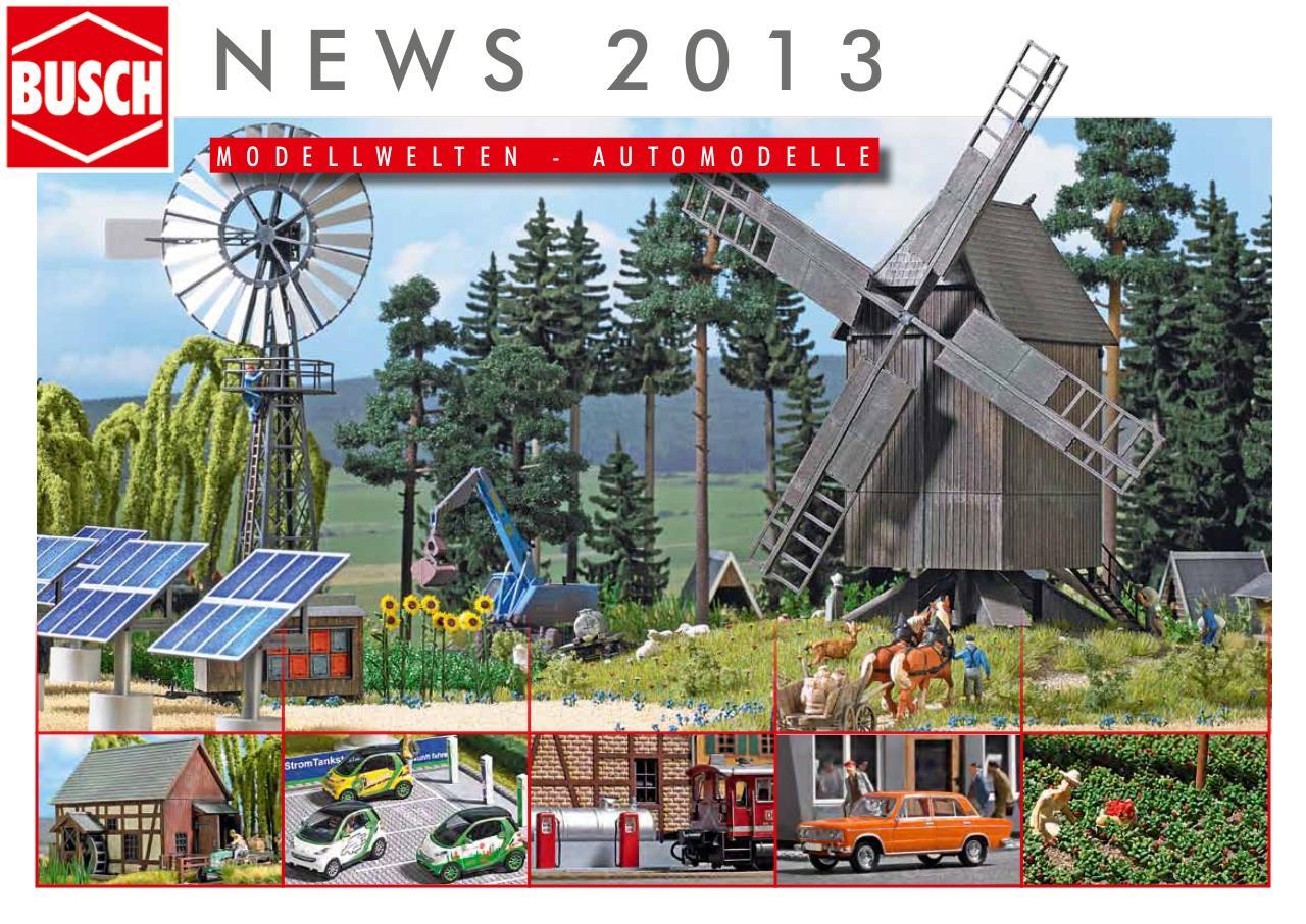 BUSCH NEWS Katalog 2019 Format A4 47 Seiten BRANDNEU