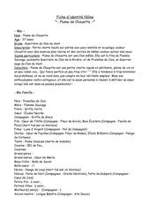 fiche d identite plume de chouette pdf