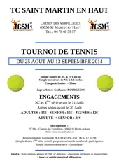 affiche tournoi open 2014