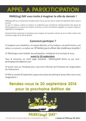 pkdr appel a participation 2014