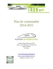 plan commandite 2014 2015