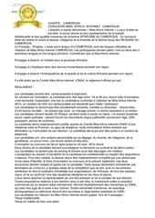 Fichier PDF cameroun