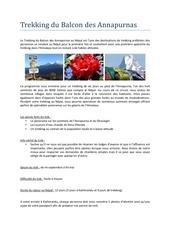 Fichier PDF trek balcon des annapurnas