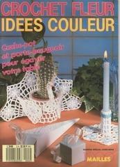 Fichier PDF 1000 mailles hs crochet fleur idees couleur