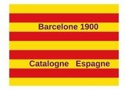 barcelone 1900 catalogne espagne