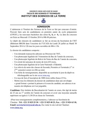 Fichier PDF coucours institut des sciences de la terre ist