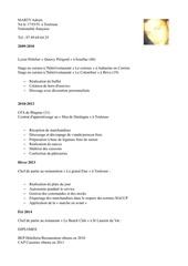 Fichier PDF cv adrien