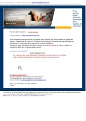 information du service paypal 1