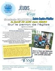 publicite 8x11 jeudi en chanson sainte sophie 14 aout 2014