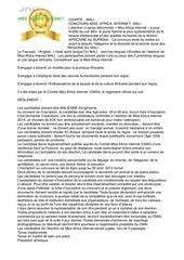 Fichier PDF mali