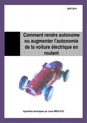 comment augmenter l autonomie de la voiture electrique