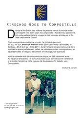 kirschos goes to compostelle
