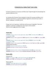 Fichier PDF phraseo du debutant sur lfml