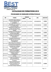 catalogue best experts conseils 2014 sem inter july 2014