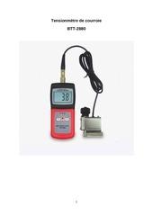manuel tensiometre btt 2880