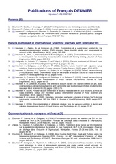 2014 08 01 liste des publications