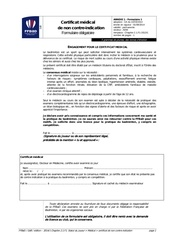 ffbad certificat medical 20142015