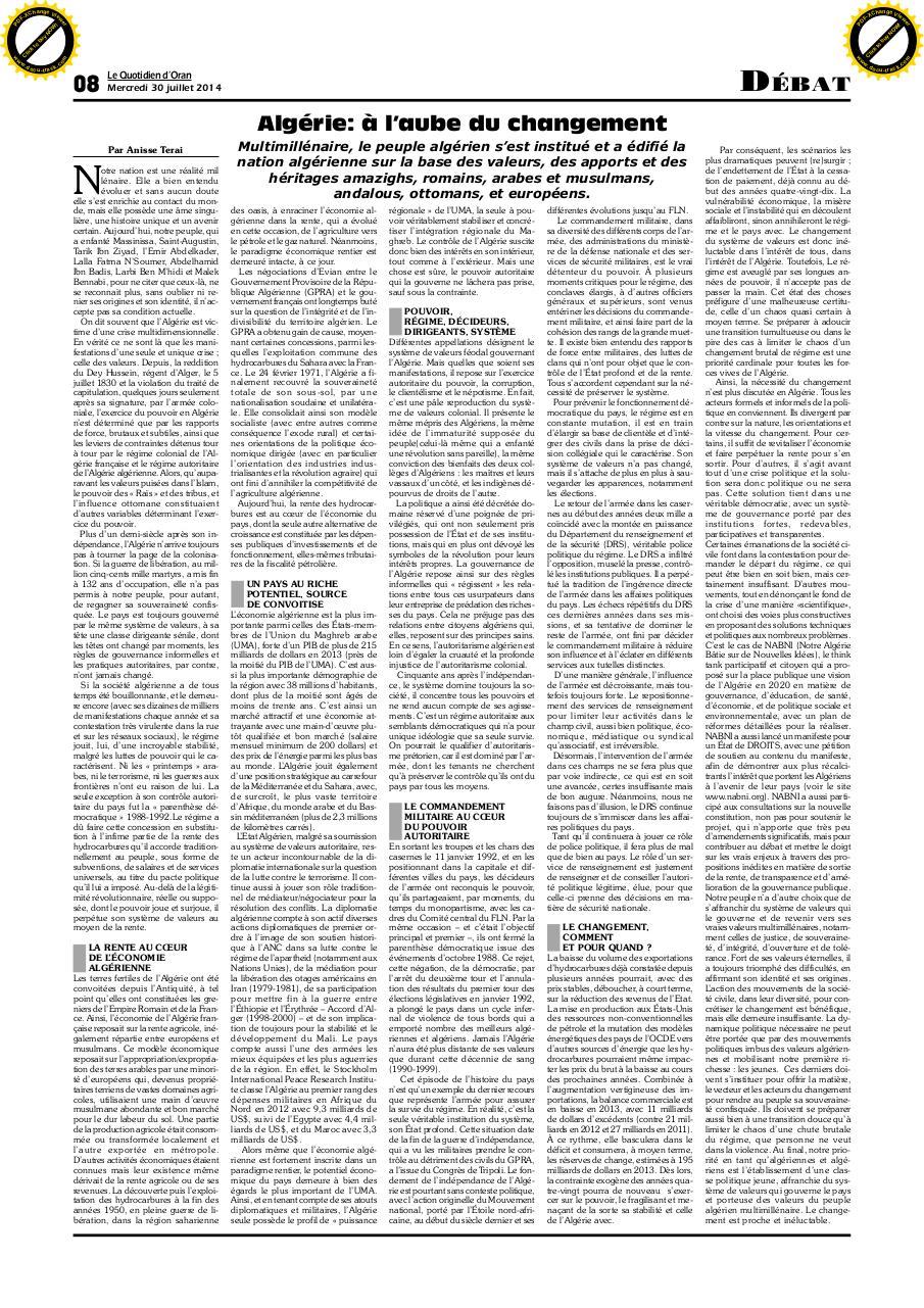 journal quotidien d oran pdf