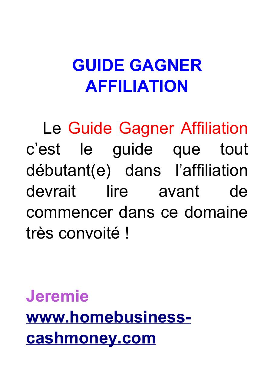 Guide-Gagner-Affiliation.pdf - page 2/41