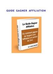 guide gagner affiliation