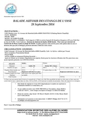 courrier balade du 28 sept