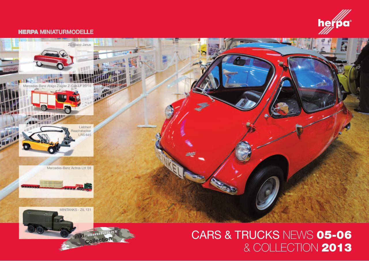 herpa cars und trucks 2013 - 05-06 - Fichier PDF