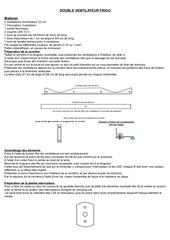 fabrication d u double ventilateur extracteur pour frigo 1