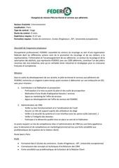 pole territorial et services aux adherents offre d emploi
