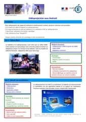 Fichier PDF 1304 videoprojection android