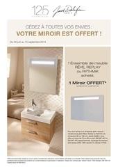 Fichier PDF promo meuble miroir