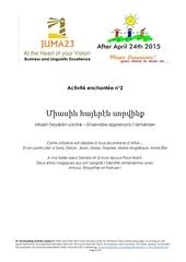 apprendre l armenien avec afterapril24th2015 lecon9