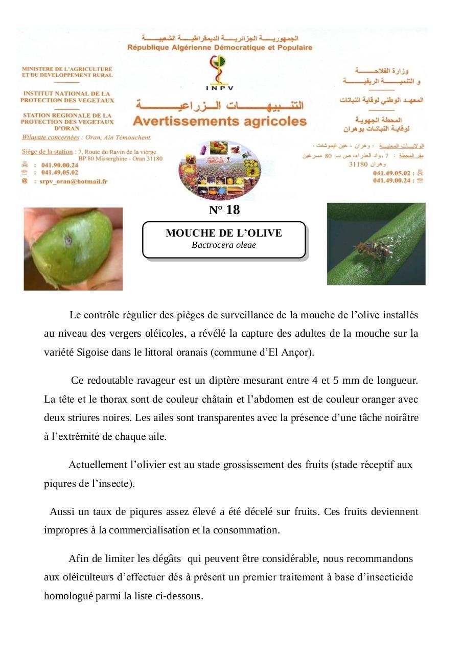 Date par 2013 fichier pdf - Insecticide mouche de l olive ...