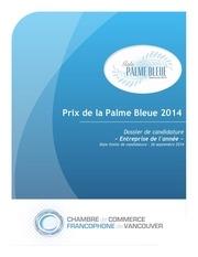 Fichier PDF palme bleue 2014 entreprise de l annee 1