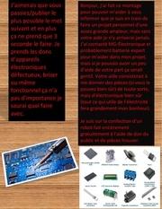 Fichier PDF projet d electronique partager svp