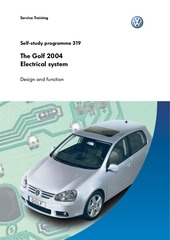 ssp 319 the golf 2004 electrical system part 1