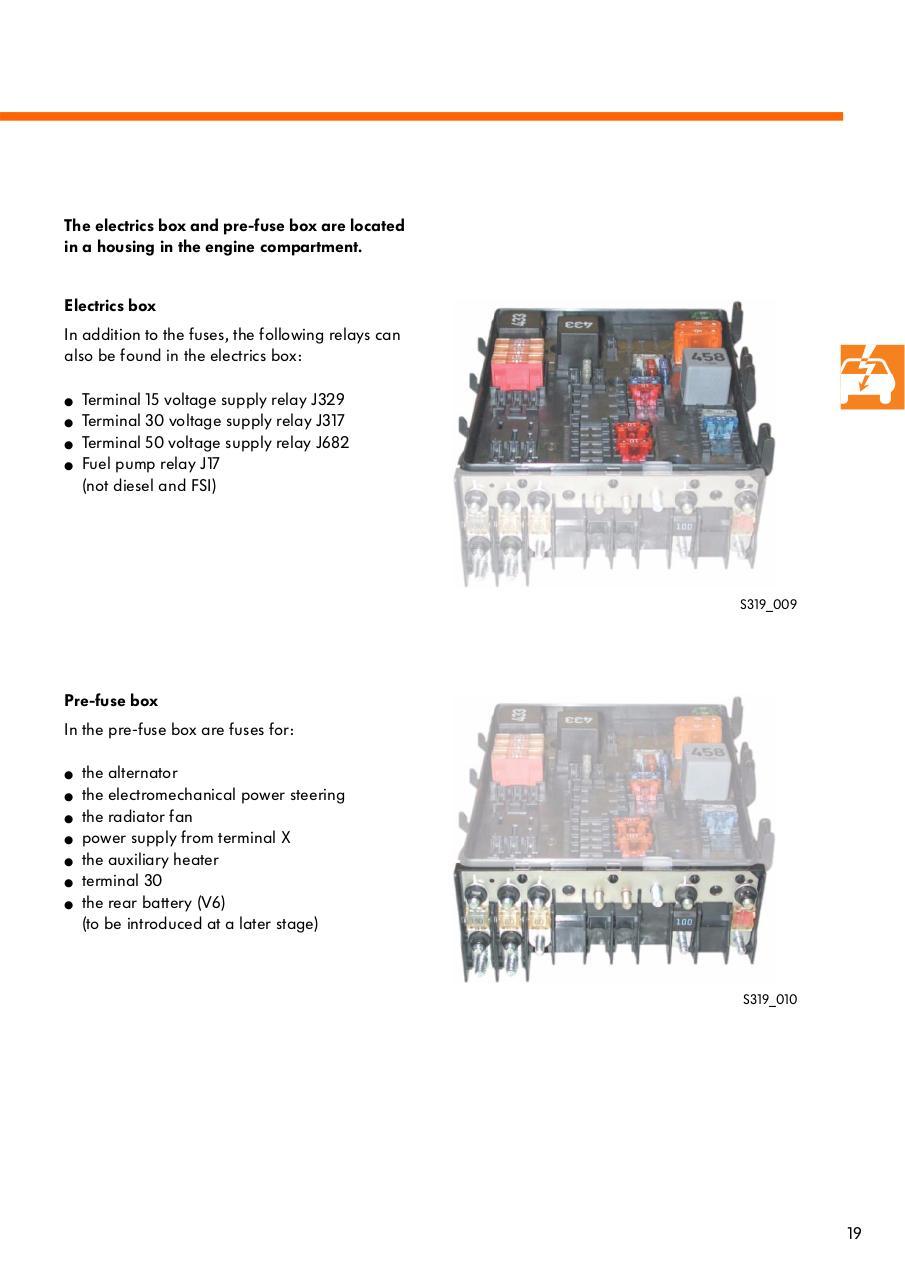 Ssp319 The Golf 2004 Electrical System Par Vk 36 Ssp 319 Pre Fuse Box Part 2pdf Page 2 43