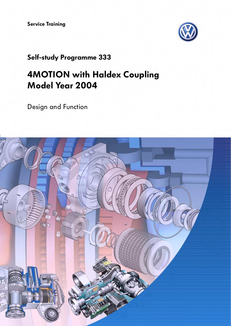 Aperçu du document SSP 333 4Motion Haldex coupling model year 2004.pdf - page 1/52