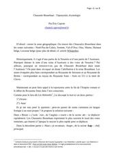 chaussee brunehaut toponymie etymologie